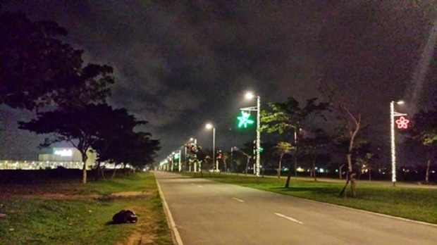 Nuvali Park in Sta Rosa, Laguna at 2:00 in the morning.